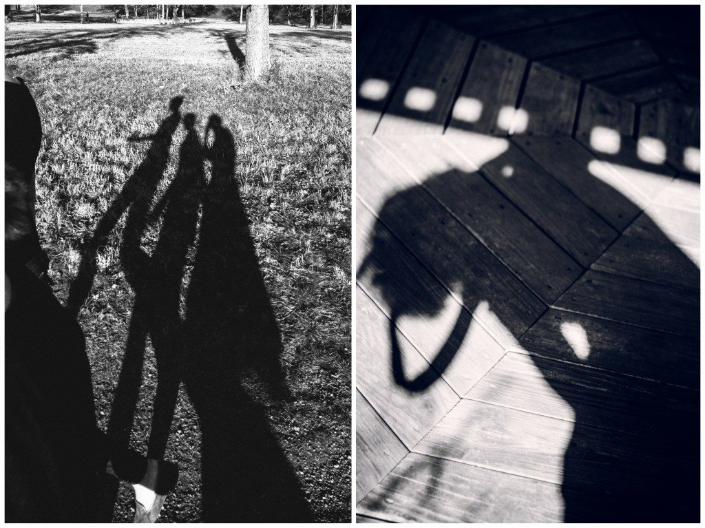 shadow collage